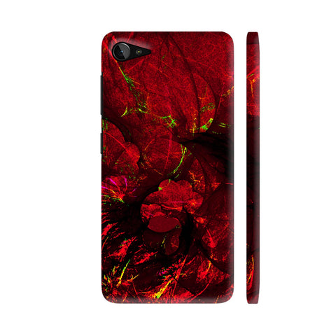 Red Art Lenovo Z2 Plus Cover | Artist: Jen28nart