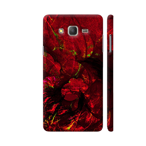 Red Art Samsung J7 Nxt Cover | Artist: Jen28nart