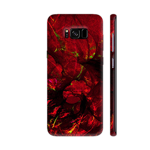 Red Art Samsung S8+ Cover | Artist: Jen28nart