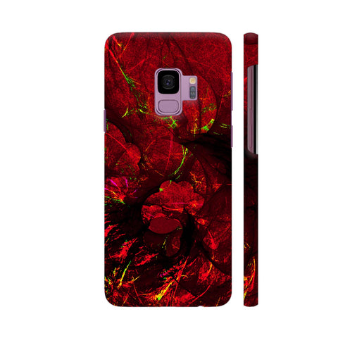 Red Art Samsung S9 Cover | Artist: Jen28nart