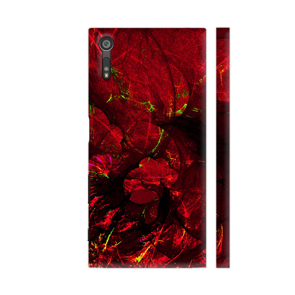Red Art Sony Xperia XZ / XZs Cover | Artist: Jen28nart