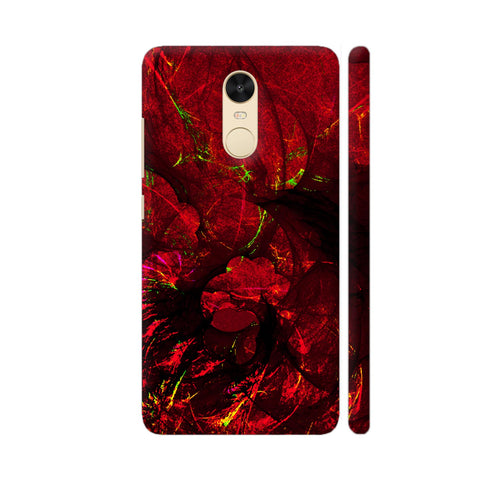 Red Art Redmi Note 4 Cover | Artist: Jen28nart