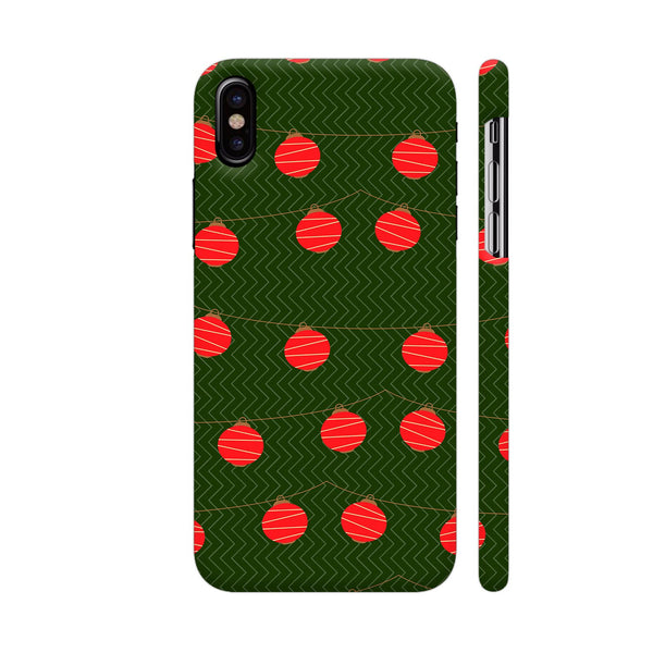 Red Lights Pattern iPhone X Cover | Artist: Malls