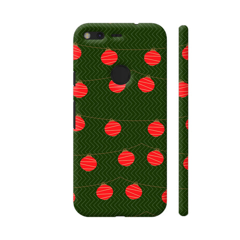 Red Lights Pattern Google Pixel Cover | Artist: Malls