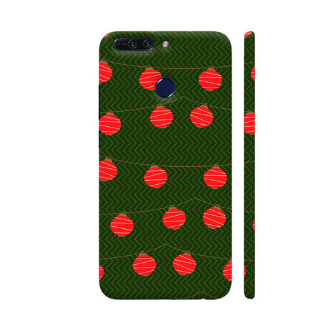 Red Lights Pattern Honor 8 Pro Cover | Artist: Malls