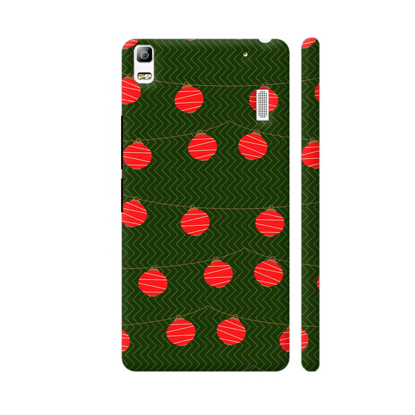Red Lights Pattern Lenovo A7000 Cover | Artist: Malls