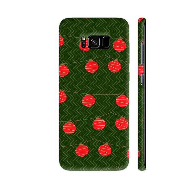 Red Lights Pattern Samsung S8 Cover | Artist: Malls