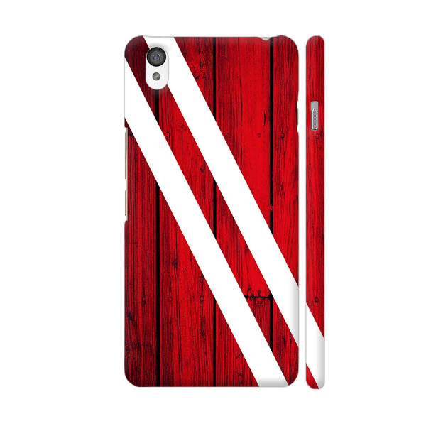 Red Wood OnePlus X Cover | Artist: Abhinav