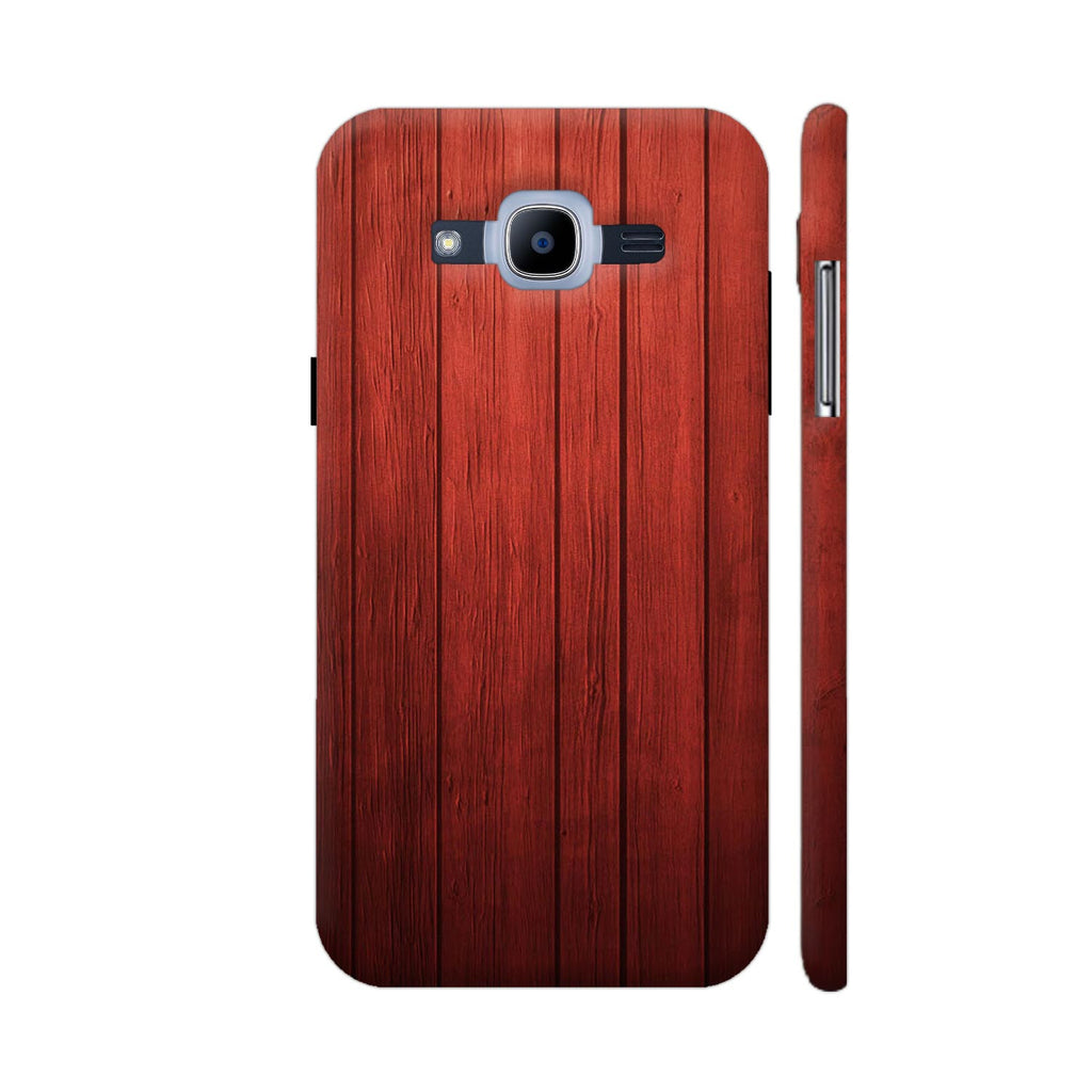 new product 9e04d 1698a Red Wood Print Samsung Galaxy J2 Pro Cover | Artist: KARAN