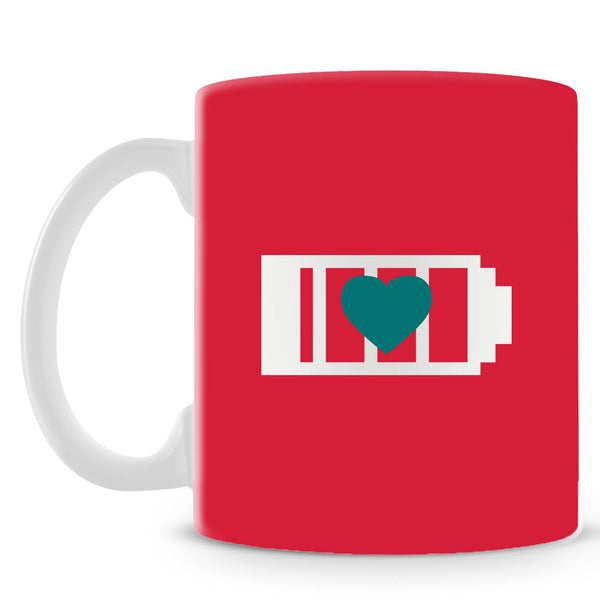 Reload Love On Red Mug