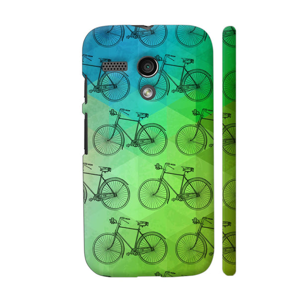 Retro Cycle Motorola Moto G1 Case