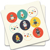 Robots Coaster (Set of 2)