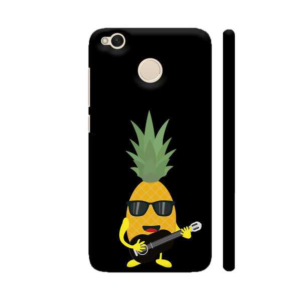 Rock N Roll Pineapple Xiaomi Redmi 4 Cover | Artist: Torben