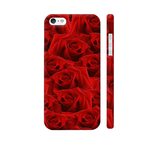 Romantic Red Rose iPhone 5 / 5s Cover | Artist: Looly Elzayat