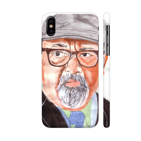 Saurabh Shukla iPhone X Cover | Artist: HeartAtArt