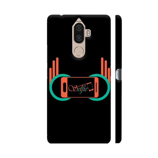 Selfie Camera With Typography Lenovo K8 Note Cover | Artist: Designer Chennai