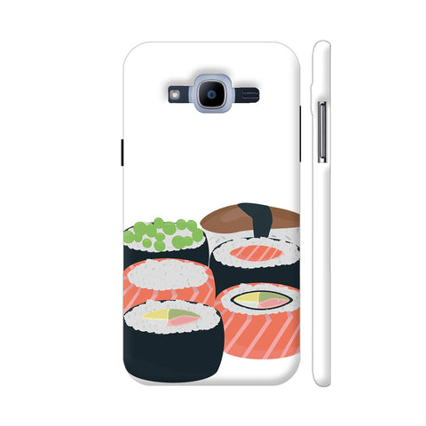 Set Of Different Sushi Rolls Samsung Galaxy J2 Pro Cover | Artist: Torben