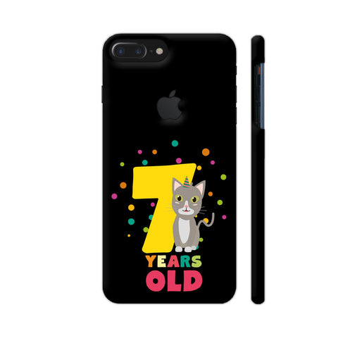 Seven Years Seventh Birthday Party Cat iPhone 7 Plus Logo Cut Cover | Artist: Torben