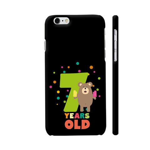 Seven Years Seventh Birthday Party Grizzly iPhone 6 Plus / 6s Plus Cover | Artist: Torben