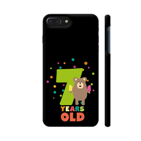 Seven Years Seventh Birthday Party Grizzly iPhone 7 Plus Cover | Artist: Torben