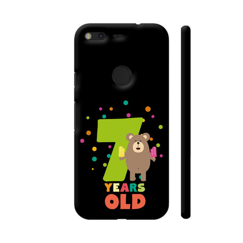Seven Years Seventh Birthday Party Grizzly Google Pixel Cover | Artist: Torben