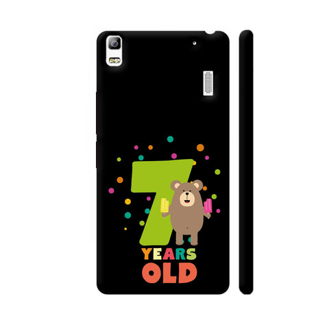 Seven Years Seventh Birthday Party Grizzly Lenovo A7000 Cover | Artist: Torben