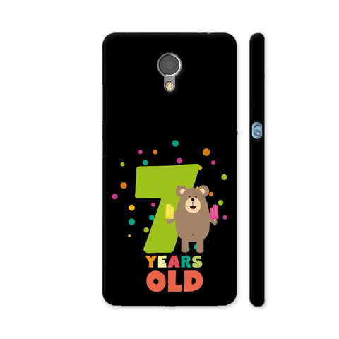 Seven Years Seventh Birthday Party Grizzly Lenovo P2 Cover | Artist: Torben