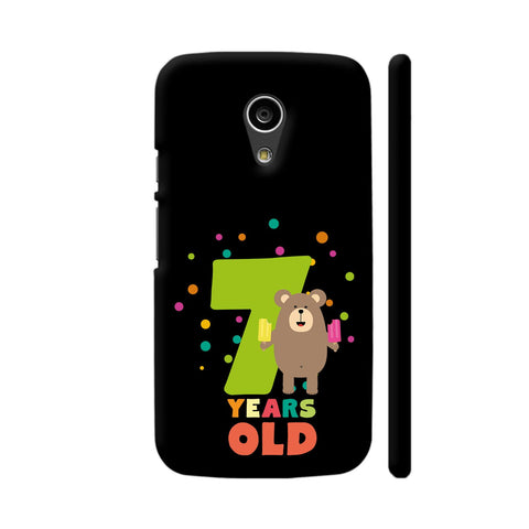 Seven Years Seventh Birthday Party Grizzly Moto G2 Cover | Artist: Torben