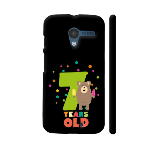 Seven Years Seventh Birthday Party Grizzly Moto X1 Cover | Artist: Torben