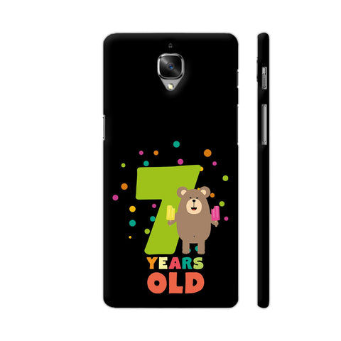 Seven Years Seventh Birthday Party Grizzly OnePlus 3 Cover | Artist: Torben