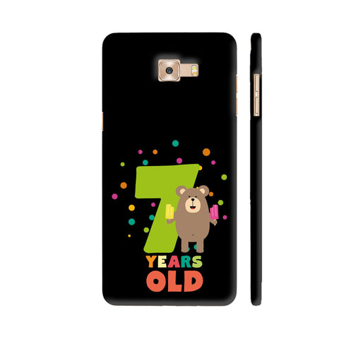 Seven Years Seventh Birthday Party Grizzly Samsung Galaxy C9 Pro Cover | Artist: Torben