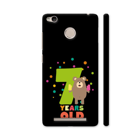 Seven Years Seventh Birthday Party Grizzly Redmi 3S Prime Cover | Artist: Torben