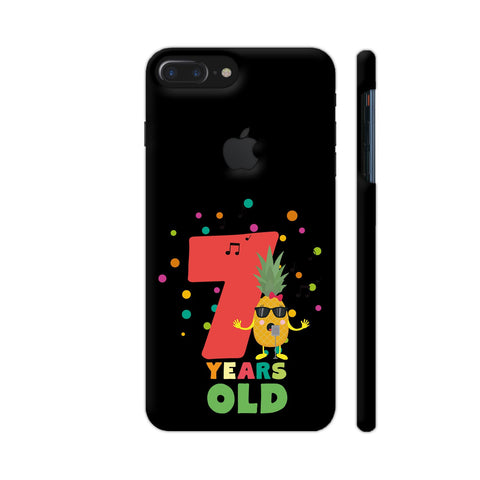 Seven Years Seventh Birthday Party Pineapple iPhone 7 Plus Logo Cut Cover | Artist: Torben
