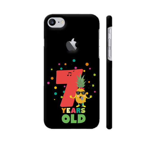 Seven Years Seventh Birthday Party Pineapple iPhone 7 Logo Cut Cover | Artist: Torben