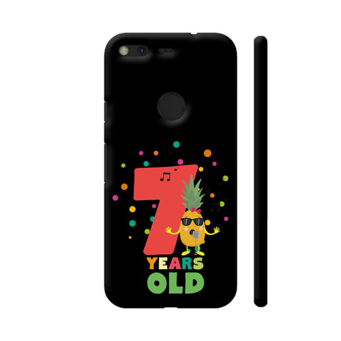 Seven Years Seventh Birthday Party Pineapple Google Pixel Cover | Artist: Torben