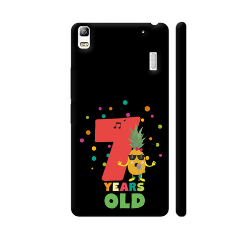 Seven Years Seventh Birthday Party Pineapple Lenovo A7000 Cover | Artist: Torben