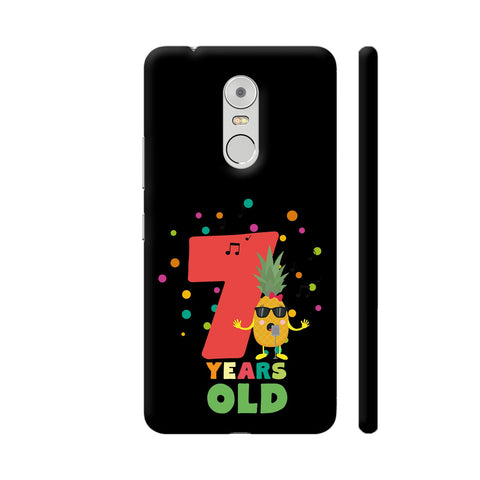 Seven Years Seventh Birthday Party Pineapple Lenovo K6 Note Cover | Artist: Torben