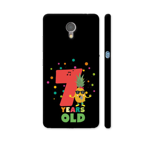 Seven Years Seventh Birthday Party Pineapple Lenovo P2 Cover | Artist: Torben