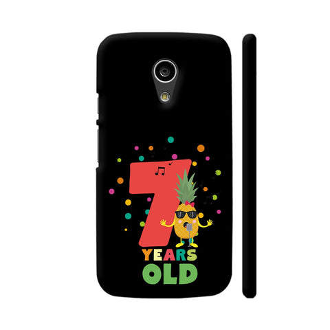 Seven Years Seventh Birthday Party Pineapple Moto G2 Cover | Artist: Torben