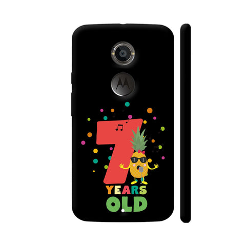 Seven Years Seventh Birthday Party Pineapple Moto X2 Cover | Artist: Torben