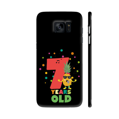 Seven Years Seventh Birthday Party Pineapple Samsung Galaxy S7 Edge Cover | Artist: Torben