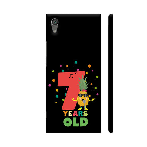 Seven Years Seventh Birthday Party Pineapple Xperia XA1 Cover | Artist: Torben