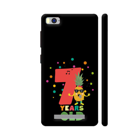 Seven Years Seventh Birthday Party Pineapple Xiaomi Mi 4i Cover | Artist: Torben