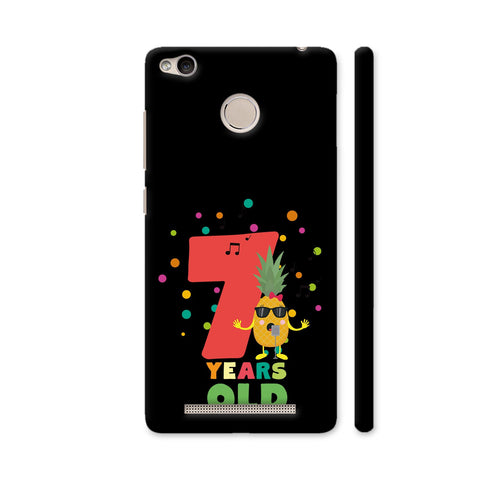 Seven Years Seventh Birthday Party Pineapple Redmi 3S Prime Cover | Artist: Torben