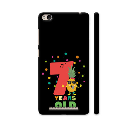 Seven Years Seventh Birthday Party Pineapple Redmi 4A Cover | Artist: Torben