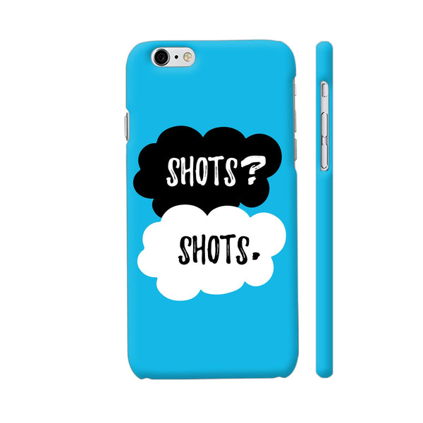 Shots Shots iPhone 6 Plus / 6s Plus Cover | Artist: Abhinav