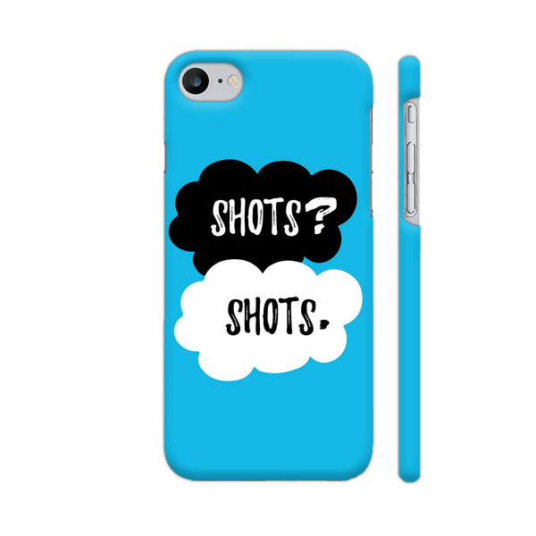 Shots Shots iPhone 8 Cover | Artist: Abhinav