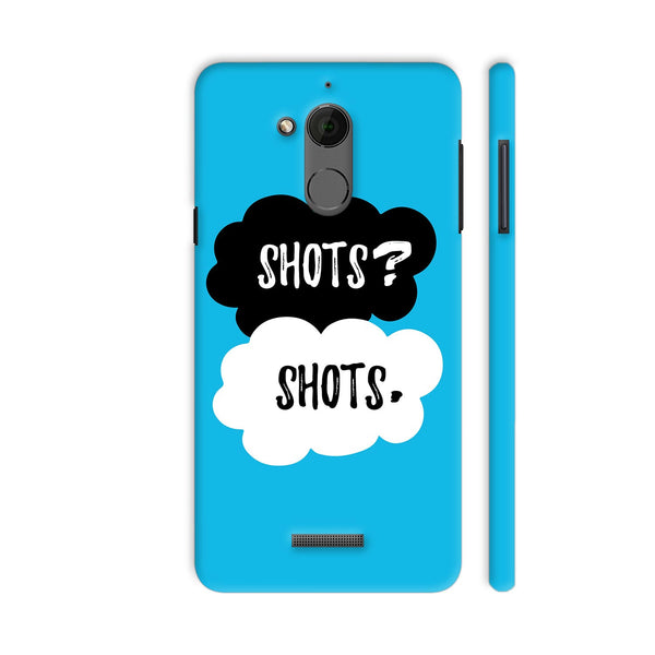 Shots Shots Coolpad Note 5 Cover | Artist: Abhinav