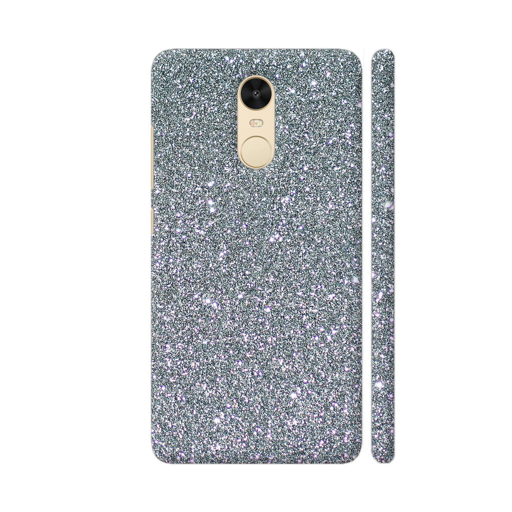 new product 92652 0e66d Silver Glitter Style Phone Case Back Cover For Xiaomi Redmi Note 4 Mobile |  Artist: WonderfulDreamPicture