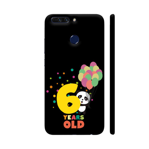 Six Years Sixth Birthday Party Panda Honor 8 Pro Cover | Artist: Torben
